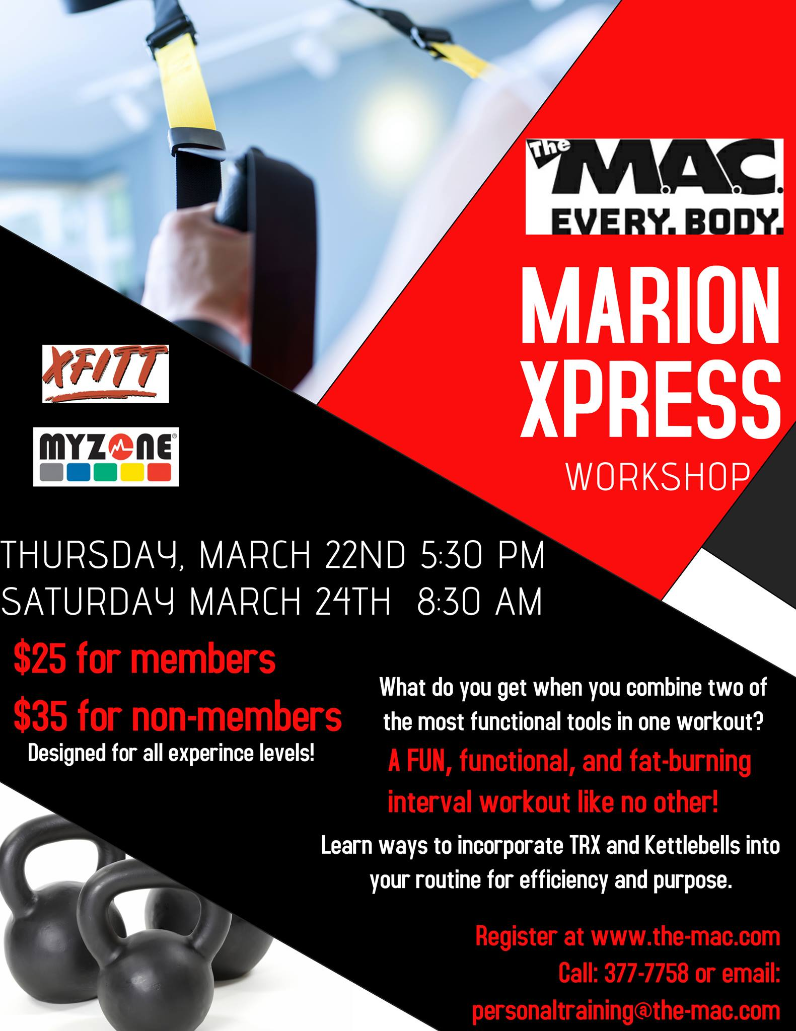 marion xpress workshop